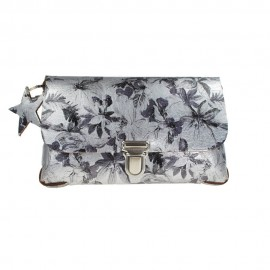 Festivalbag Flower Grey S