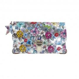 Festivalbag Flower Silver S