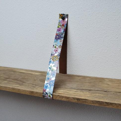 Plankdrager Flower Silver