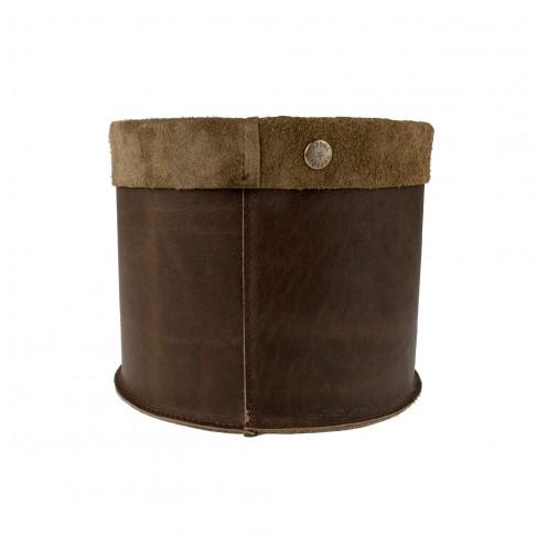 Basket Vintage Brown L