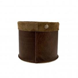 Basket Vintage Brown M