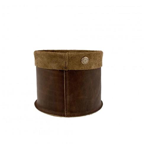 Basket Vintage Brown S
